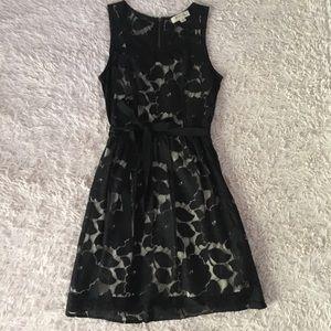 Monteau Black Lace Dress